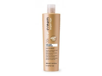 Inebrya Argan-Age Pro-Age shampoo 300ml šampon na unavené vlasy