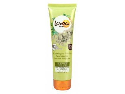 Lovea Cleansing gel white clay 150ml čistící pleťový gel s bílým jílem