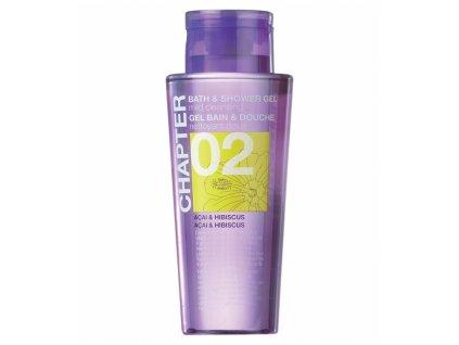 chapter 02 bath shower gel acai hibiscus 400ml