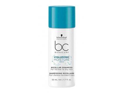 Schwarzkopf BC Bonacure Moisture Kick Hyaluronic Micellar shampoo 50ml hydratační šampon