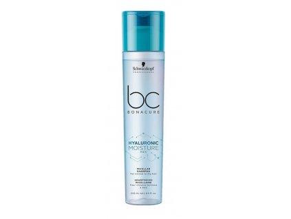 Schwarzkopf BC Bonacure Moisture Kick Hyaluronic Micellar shampoo 250ml hydratační šampon