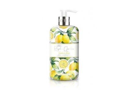 Baylis & Harding Royale Garden Lemon & Basil tekuté mýdlo 500ml