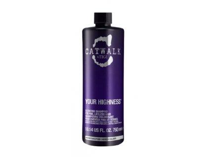 Tigi Catwalk Your Highness Elevating shampoo 750ml objemový šampon