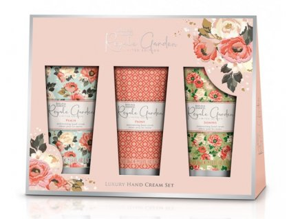 baylis royale garden hand cream 3x50ml