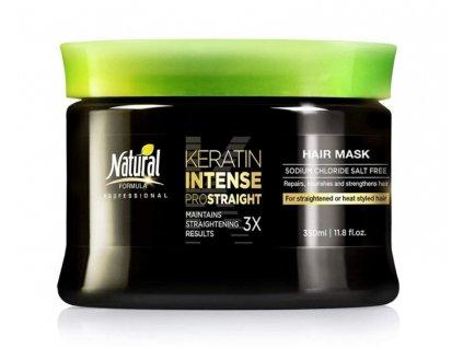 natural formula keratin intense mask 350ml