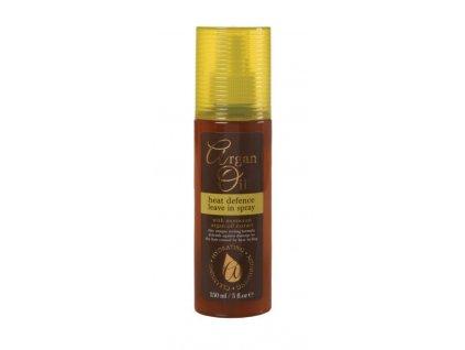 Xpel Argan oil heat leave-in spray 150ml bezoplachový sprej s tepelnou ochranou