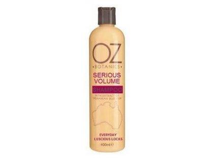 Xpel OZ Botanics Serious Volume shampoo 400ml šampon na objem