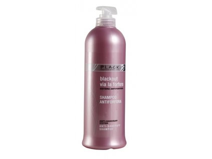 black anti dandruff shampoo 500ml