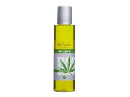 Saloos sprchový olej Konopný 125ml - PO EXPIRACI