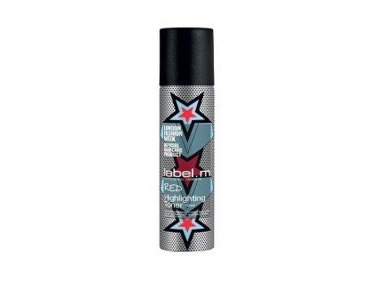 Label.m Highlighting Toner Red150ml- červený zvýrazňující spray