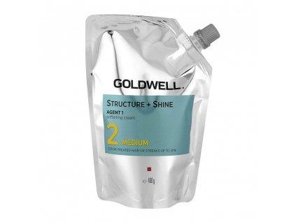 goldwell structureshine agent 1 medium 2 400 g