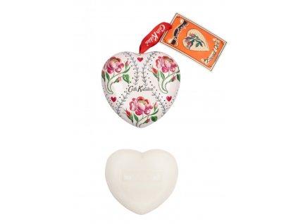 heathcote ivory mydlo srdce plech keep