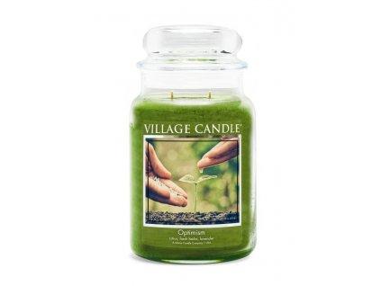 village candle optimism