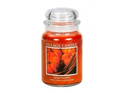 village candle spiced pumpkin