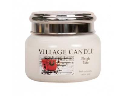 village candle sleigh ride 262 g