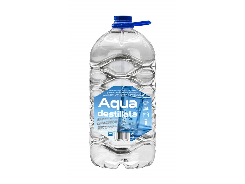 1610250 AQUA Destillata 5 lt PET 8594007998863