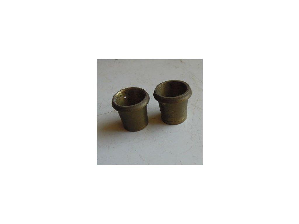 antiková mosazná koncovka na nohu křesla - pár,antiková mosazná koncovka na nohu křesla - pár
