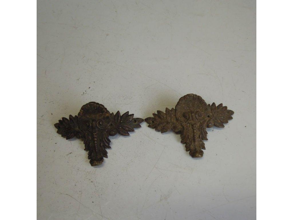 antiková ozdoba - pár,antiková ozdoba - pár,antiková ozdoba - pár