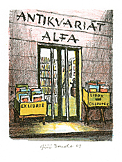 Ex Libris Antikvariát Alfa