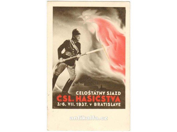Celoštátny sjazd ČSL. hasicstva 1937