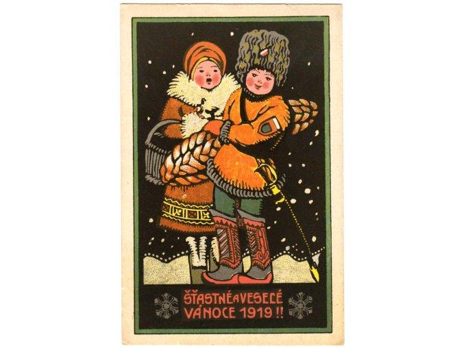 Šťastné a veselé Vánoce 1919
