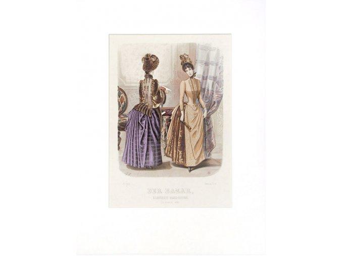 Dvě dámy čtoucí dopis