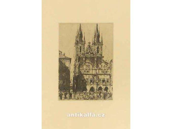 Kostel Panny Marie s Týnskou školou