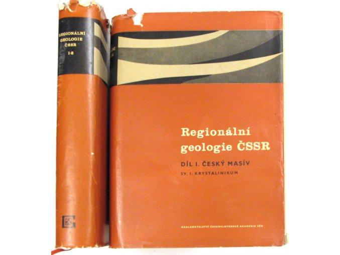 Regionální geologie ČSSR I.
