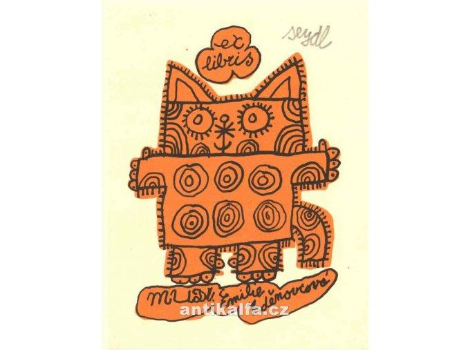 Stojící kočka