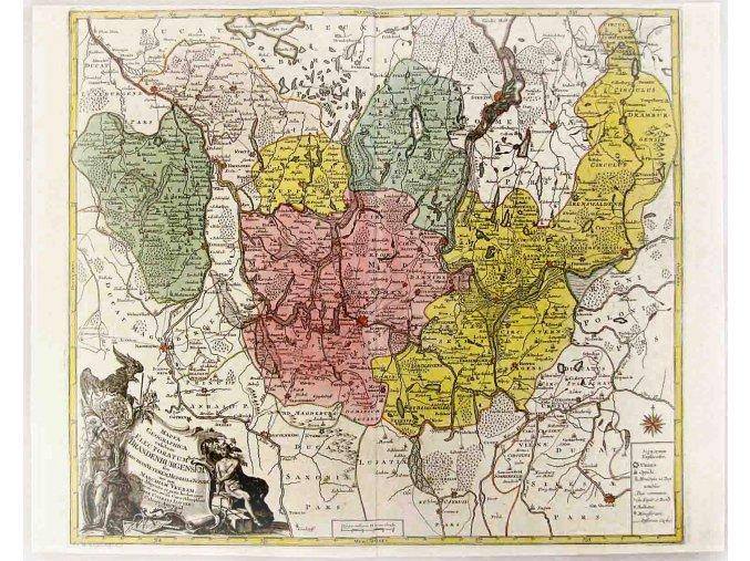 Mappa Geographica Brendenburgensem...