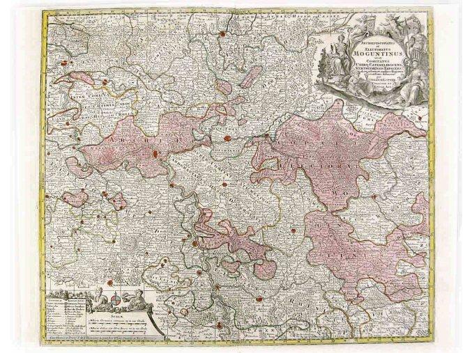 Archiepiscopatus et Electoratus Moguntinus