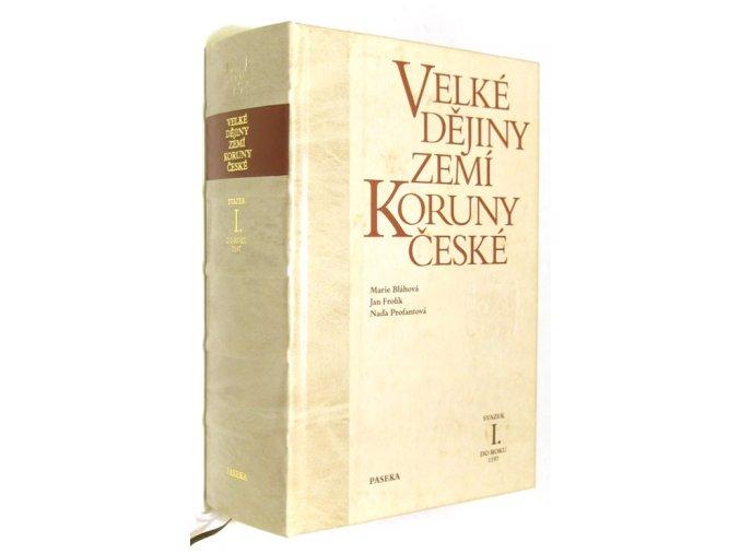 Velké dějiny zemí Koruny české I.