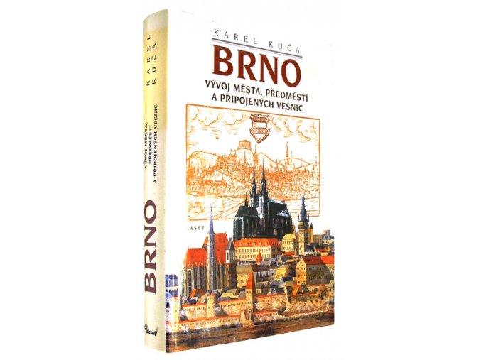 Brno: vývoj města, předměstí a připojených vesnic