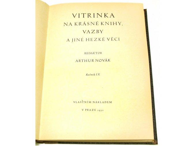 Vitrinka IX.