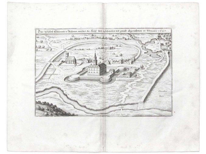 Das Schloß Chlumnitz