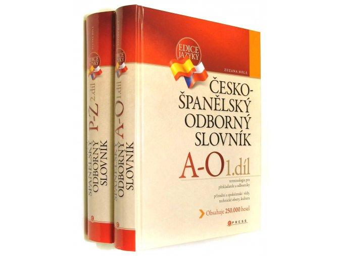 Česko-španělský odborný slovník