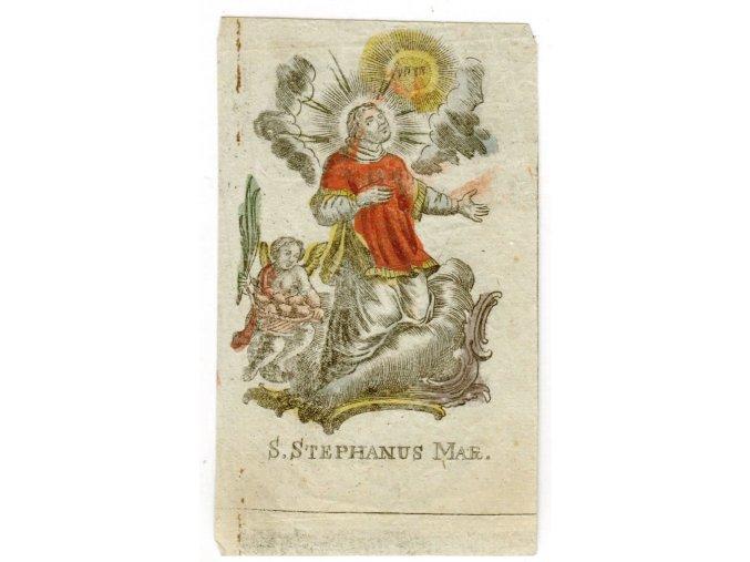 S. Stephanus Mar.