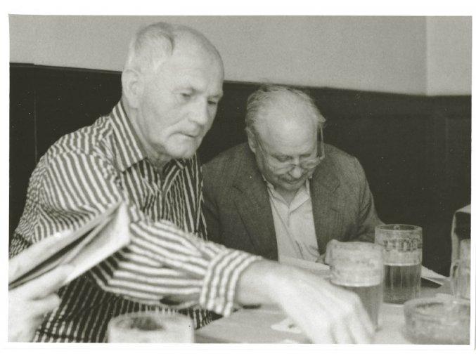 Bohumil Hrabal a Karel Marysko