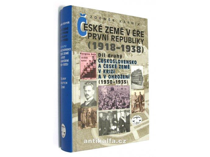 České země v éře První republiky II.