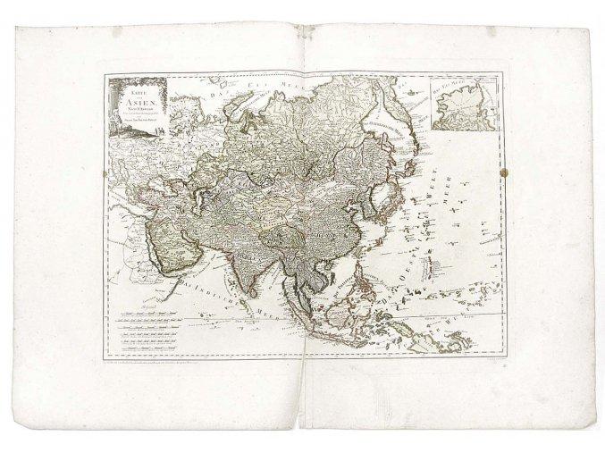 Karte von Asien