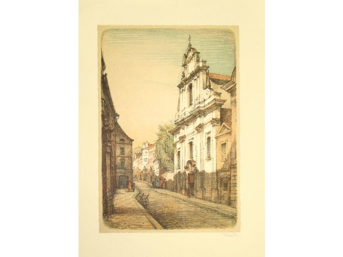 Kostel v Nerudově ulici