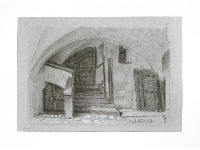 Brno - sklepení v domě 21