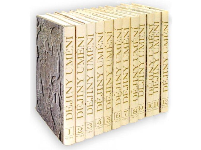 Dějiny umění I. - XII.