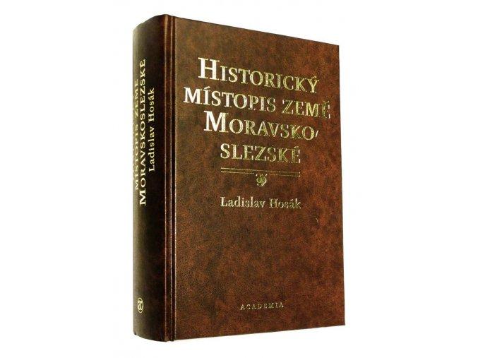 Historický místopis země Moravskoslezské