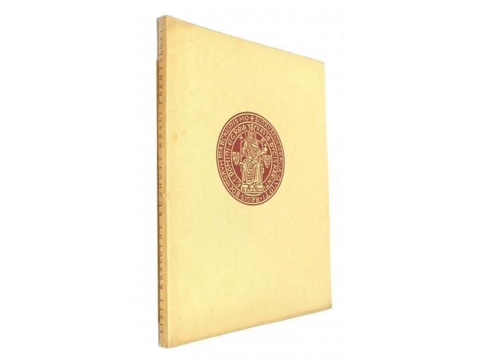 Listy královny Kunhuty králi Přemyslovi