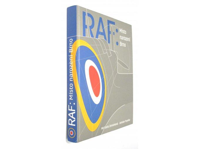 RAF: místo narození Brno