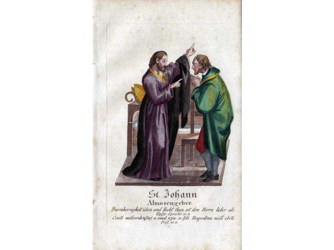 Svatý Jan Almužník (Milosrdný)