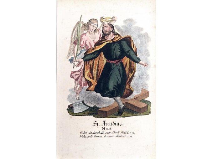 Svatý Arkadius mučedník
