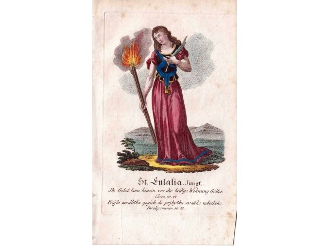 Svatá Eulalie, panna