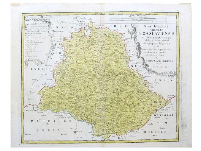 Regni Bohemiae Circulus Czaslaviensis